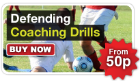 Football Defending Coaching Drills