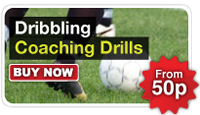 Football Dribbling Coaching Drills