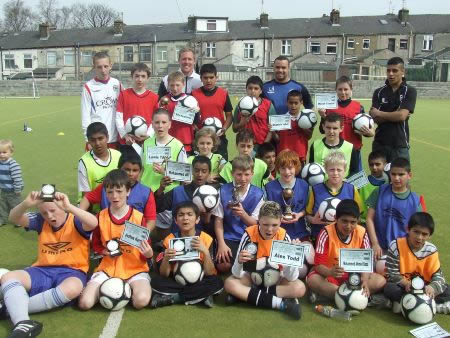 Accrington football road show hailed a success